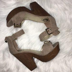 🤎🤎Cute Guess Sandal Heels🤎🤎